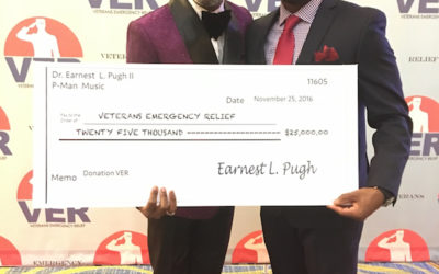 Earnest Pugh Celebrates 50th Birthday By Raising $40,000 for His New Non-Profit Benefiting Veterans